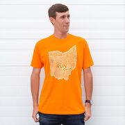 Running Short Sleeve T-Shirt - Ohio State Runner