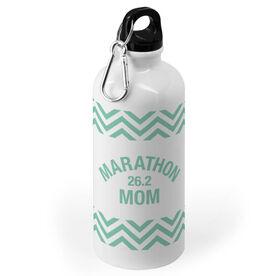 Running 20 oz. Stainless Steel Water Bottle - Marathon 26.2 Mom