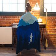 Running Premium Blanket - Mountain Call Male