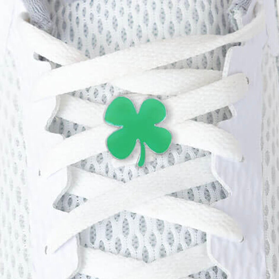 LaceBLING Shoelace Charm - Four Leaf Clover