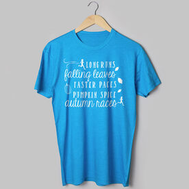 Running Short Sleeve T-Shirt - Awesome Autumn