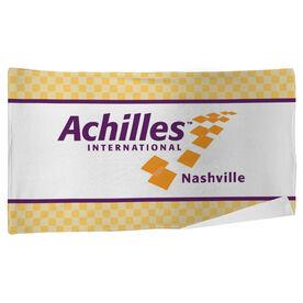 Achilles International-Nashville Logo - Beach Towel