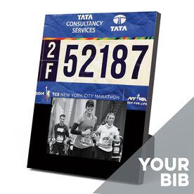 Running Photo Frame - Your Race Bib