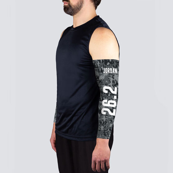 Running Printed Arm Sleeves - Twenty Six Point Two