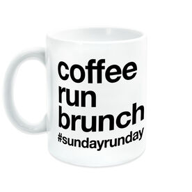 Running Coffee Mug - Coffee Run Brunch