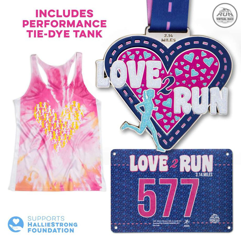 Virtual Race - Love 2 Run 2.14 Miler