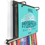 BibFOLIO+™ Race Bib and Medal Display This Princess Wears Running Shoes