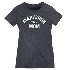 Women's Everyday Runners Tee - Marathon 26.2 Mom