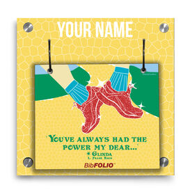 Personalized You've Always Had The Power Wall BibFOLIO® Display