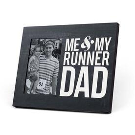 Running Photo Frame - Me & My Runner Dad