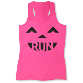 Women's Performance Tank Top Pumpkin Run
