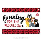 Virtual Race - Running For Rescues 5K
