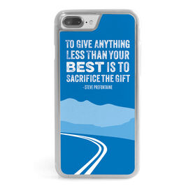Running iPhone® Case - To Give Anything Less