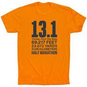 Running Short Sleeve T-Shirt - 13.1 Math Miles