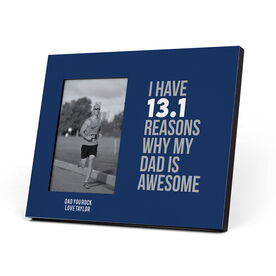 Running Photo Frame - 13.1 Reasons Why My Dad is Awesome