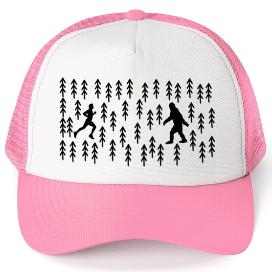 Running Trucker Hat - Bigfoot Run