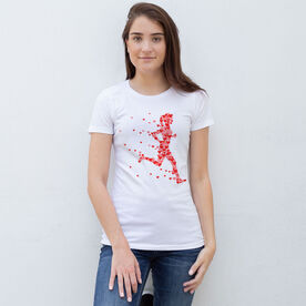 Women's Everyday Runners Tee - Heartfelt Run