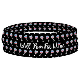 Running Multifunctional Headwear - Will Run For Wine RokBAND