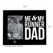 Running Photo Frame - Me & My Runner Dad
