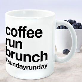 Running Coffee Mug - Coffee Run Brunch