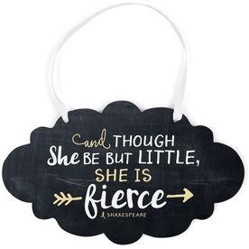 Running Cloud Sign - She Is Fierce