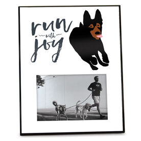 Running Personalized Photo Frame - Run With Joy
