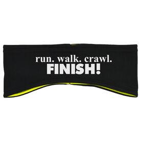 Running Reversible Performance Headband Run. Walk.Crawl. FINISH!