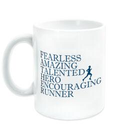 Running Coffee Mug - Father Words