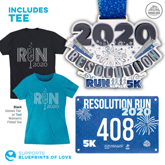 Virtual Race - Resolution Run 5K (2020) - SPECIAL EDITION