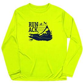 Men's Running Long Sleeve Performance Tee - Run ACK