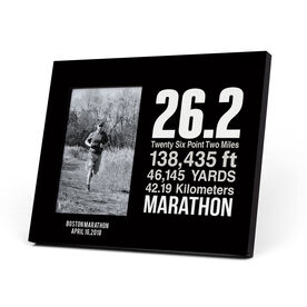 Running Photo Frame - 26.2 Math Miles