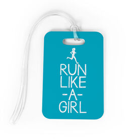 Running Bag/Luggage Tag - Run Like A Girl