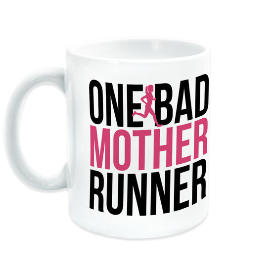 Running Coffee Mug - One Bad Mother Runner