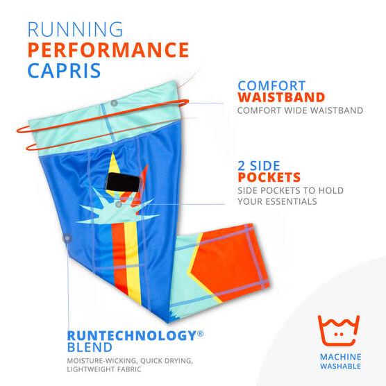 Running Performance Capris - Run New York
