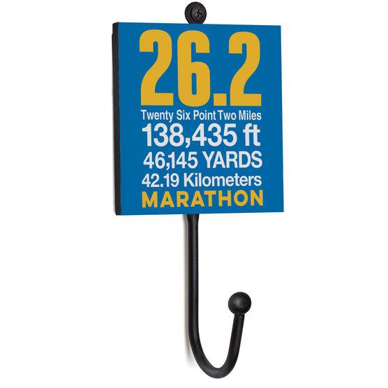 Running Medal Hook - 26.2 Math Miles