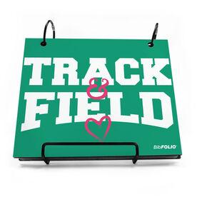 BibFOLIO® Race Bib Album - Heart Track and Field