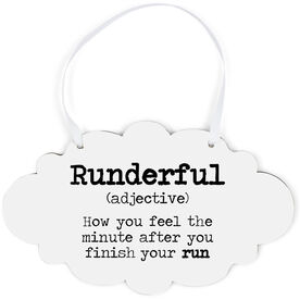Running Cloud Sign - Runderful