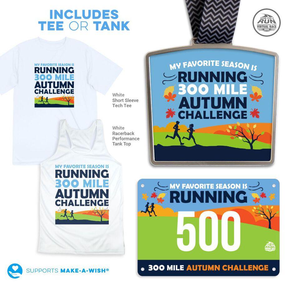 Virtual Race - 300 Mile Fall Challenge (2021)