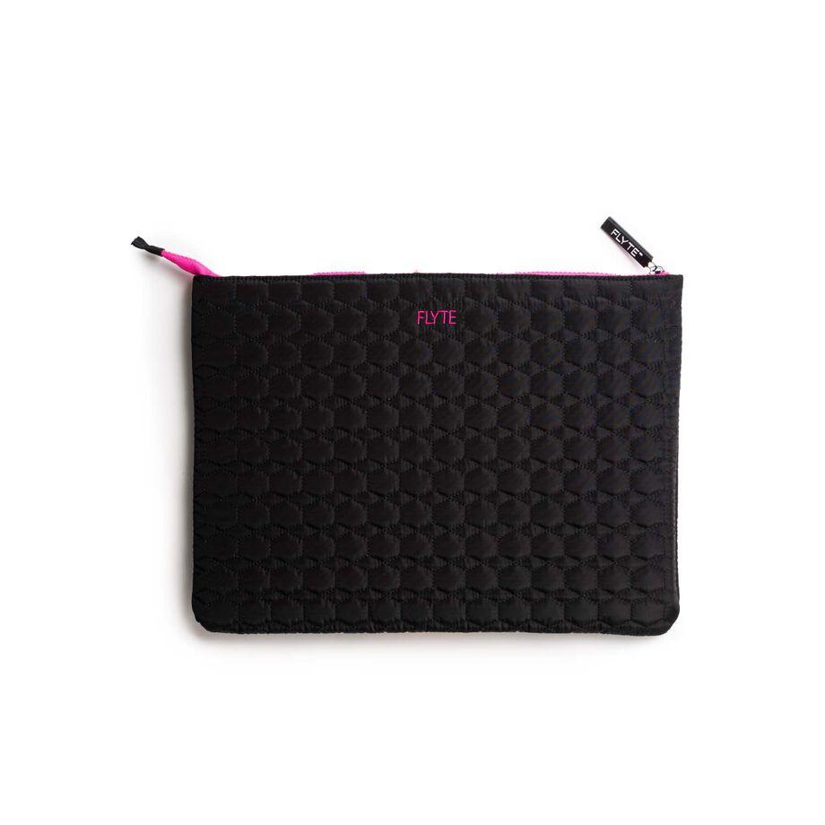 Krystyna Computer Case - Black/Pink