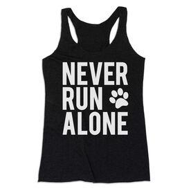 Women's Everyday Tank Top - Never Run Alone (Bold)