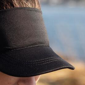 Running Comfort Performance Visor - Black
