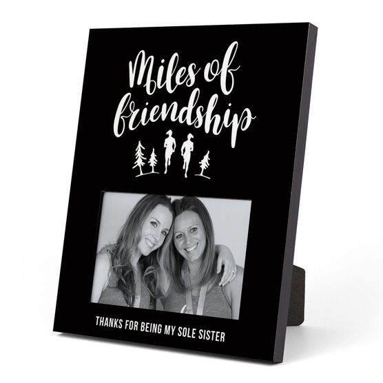 Running Photo Frame - Miles Of Friendship