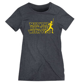 Women's Everyday Runners Tee - May The Run Be With You