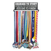 Race Medal Hanger Courage To Start MedalART
