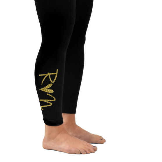 Running Leggings - Run Heart