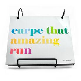 BibFOLIO® Race Bib Album - Carpe That Amazing Run