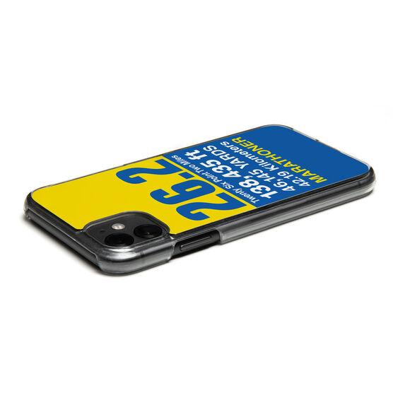 Running iPhone® Case - 26.2 Math Miles