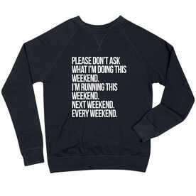 Running Raglan Crew Neck Sweatshirt - All Weekend Running