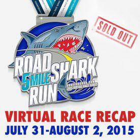 Road Shark Run Virtual 5 Mile Race