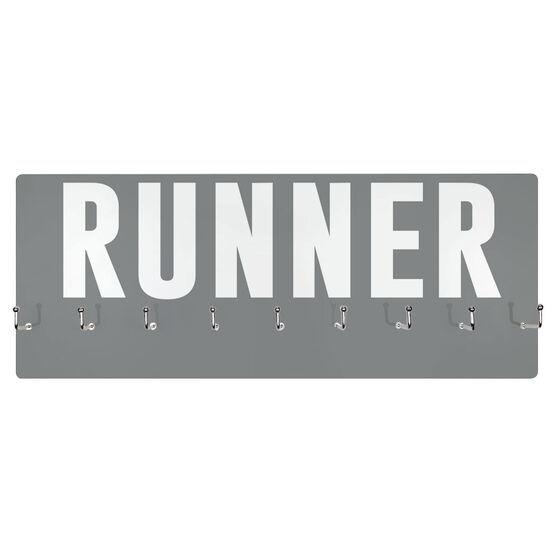Running Hooked on Medals Hanger - Runner